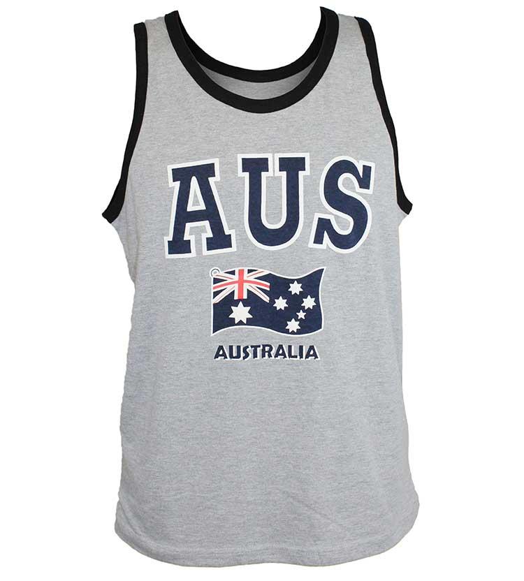 Australian Flag Aus Singlet Australia The Gift Australia The Gift Souvenirs T Shirts