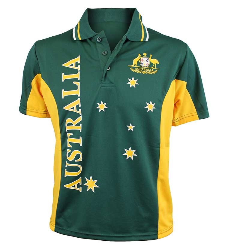 Australian soccer polo shirt australia the gift for Design t shirts online australia