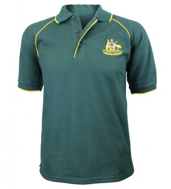 Australia Coat of Arms Polo