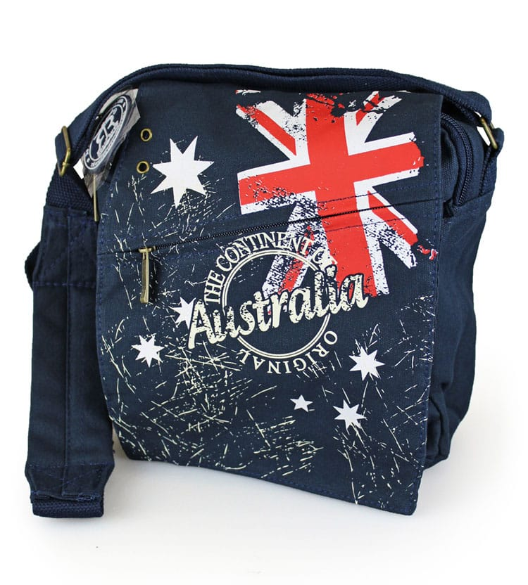 Robin Ruth Flag Man Sml Bag Australia The Gift