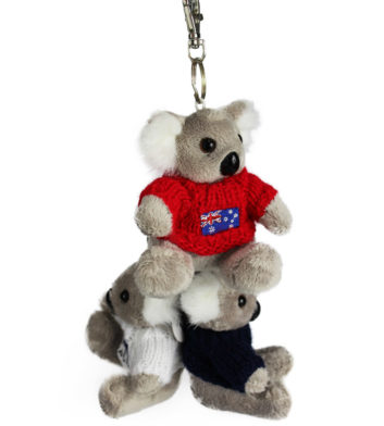 Koala In Jumper Keyring