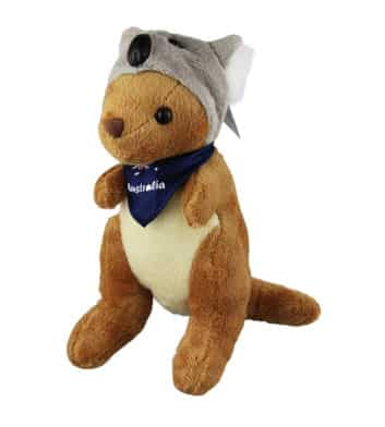 Kangaroo In Koala Hat