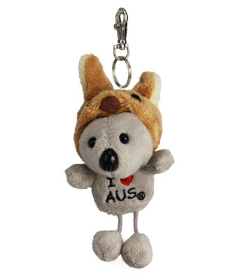 Koala With Hat Keyring