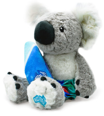 Surfing Koala Soft Toy