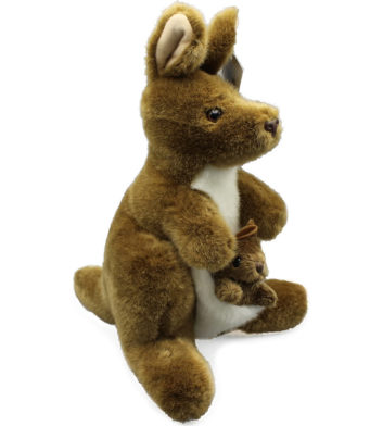 Kangaroo & Joey Plush Toy