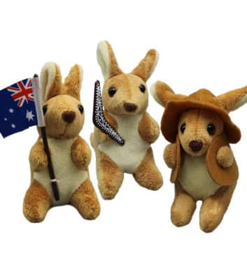 Small Kangaroo Plush Toy