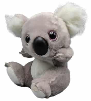 Big Head Grey Koala 16cm
