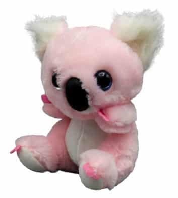 Big Head Pink Koala 16cm