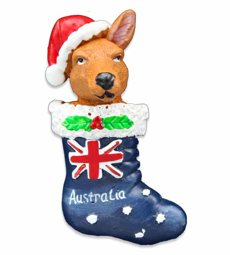 Kangaroo Stocking Magnet
