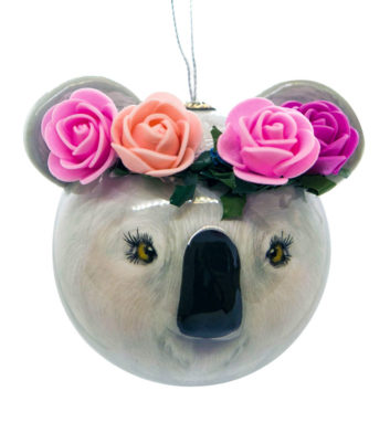 Koala Barb Christmas Bauble