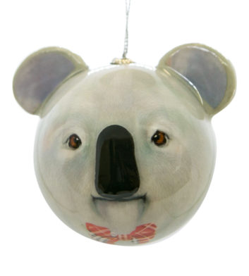Koala Bob Christmas Bauble