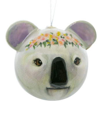 Koala Shaz Christmas Bauble