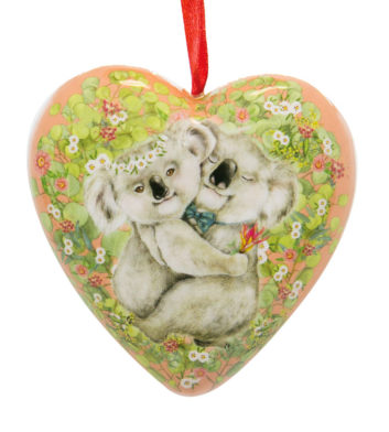 Hugging Koalas Christmas Decoration