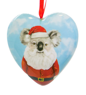 Heart Koala Christmas Decoration