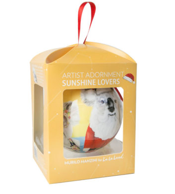 Sunshine Lovers Boxed Christmas Bauble