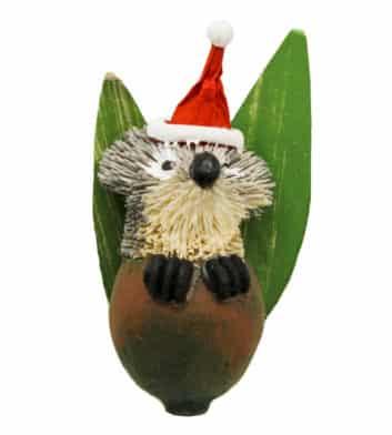 Bristlebrush Gum Nut Christmas Ornament