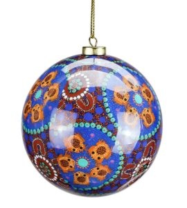 Desert Frogs Christmas Bauble