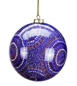 Desert Waterholes Christmas Bauble