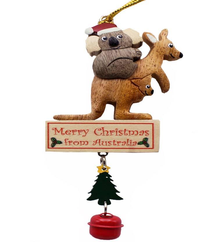 Kangaroo Christmas Decoration