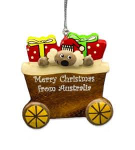 Koala Wagon Christmas Decoration