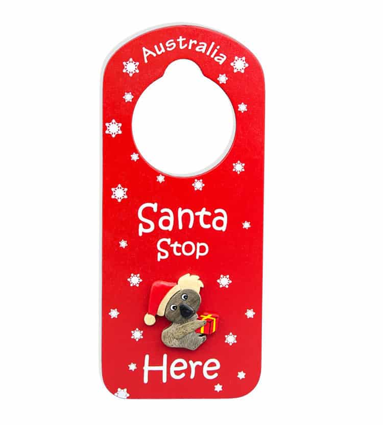 Christmas Koala Door Hanger