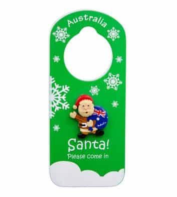 Christmas Santa Door Hanger
