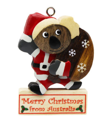 Christmas Koala Sack Ornament
