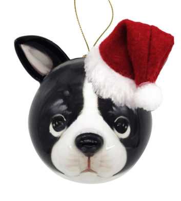 3D Puppy Christmas Bauble