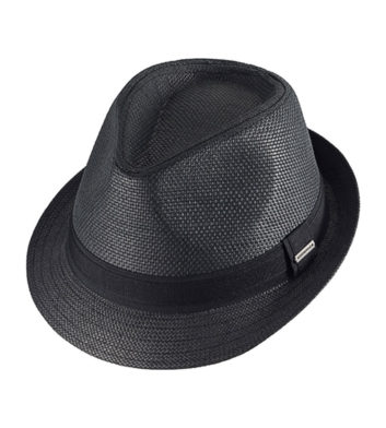 Arlo Unisex Fedora Black