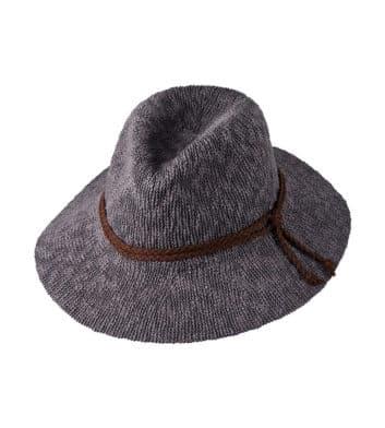 Ladies Safari Hat Grey