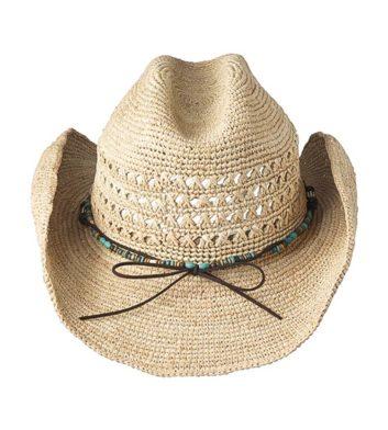 Ladies Torah Cowboy Hat Natural