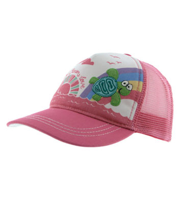 Kids Turtle Trucker Cap