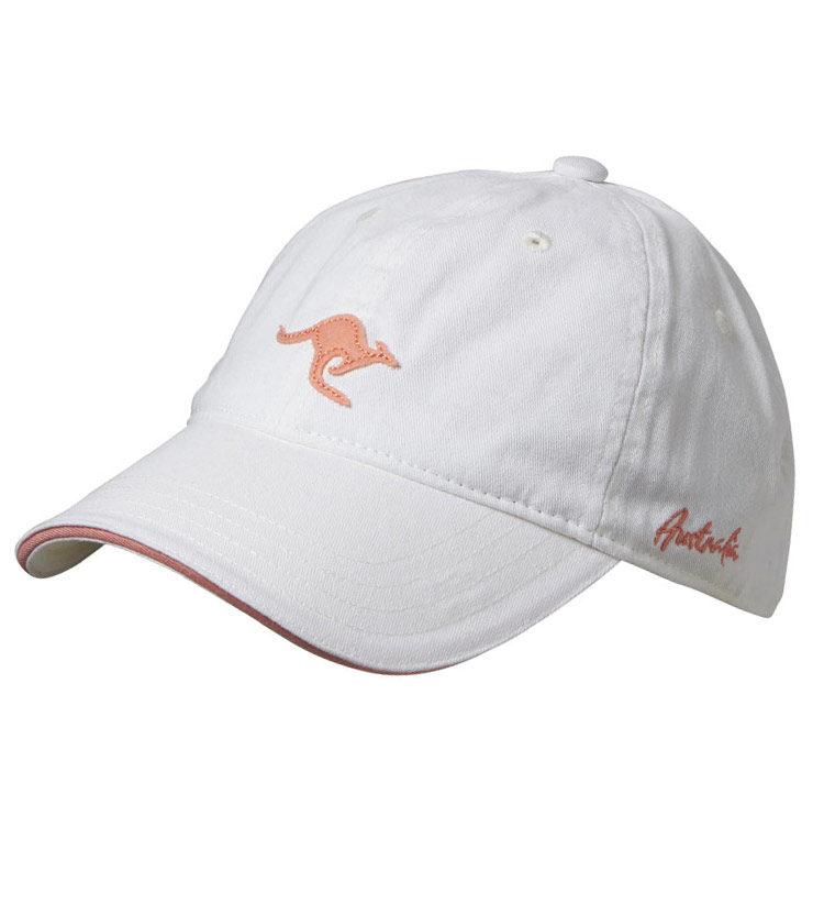 Kangaroo Cap White