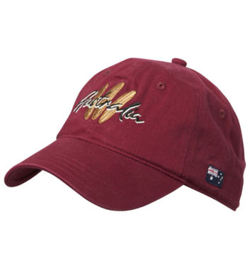 Australia Surfboard Cap Red
