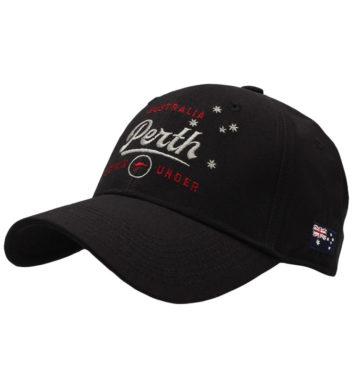 Perth Sports Cap Black