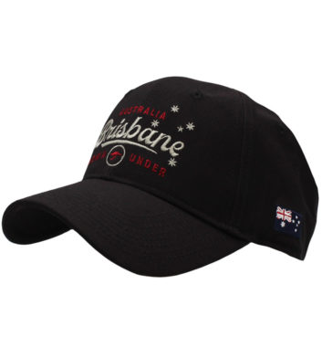 Brisbane Sports Cap Black