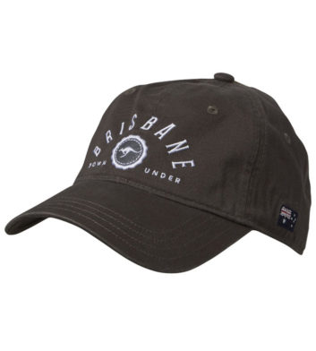 Brisbane Downunder Cap Black