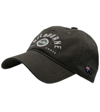 Melbourne Casual Cap Charcoal