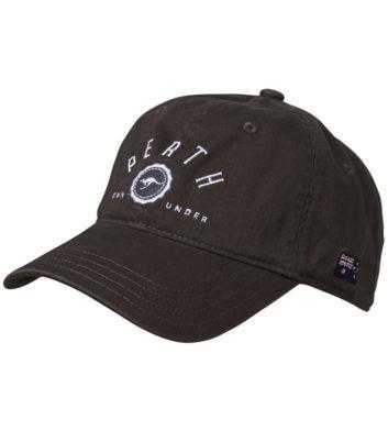 Perth Downunder Cap Black