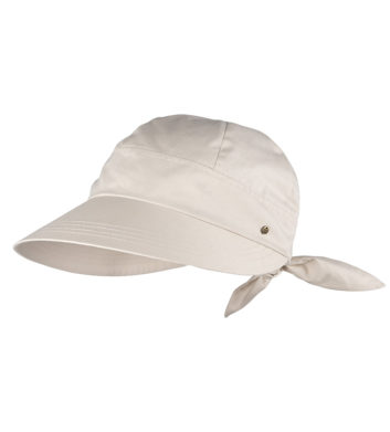 Ladies Bow Cap Natural