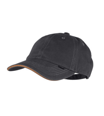 Mens Casual Cap Charcoal