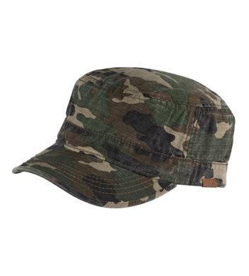 Mens Mao Cap Camo
