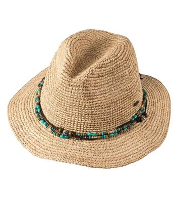 Ladies Bora Bora Mid Brim Hat Natural