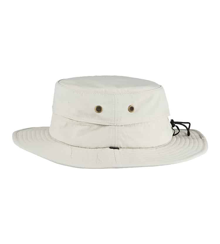 Mens Mid Brim Hat White