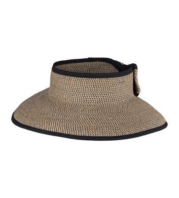 Ladies Roll Up Visor Natural