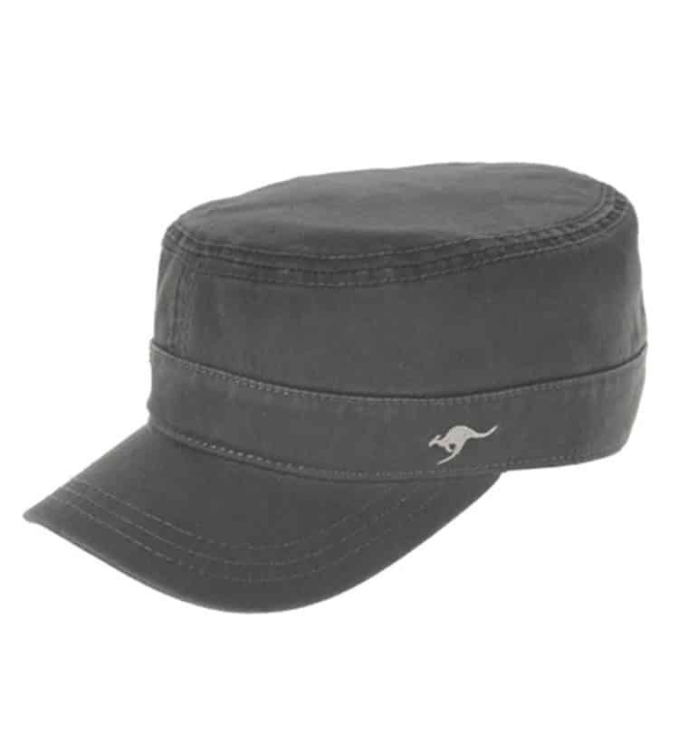 Mens Mao Cap Charcoal