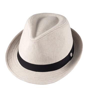 Ladies Pippa Fedora Hat Stone