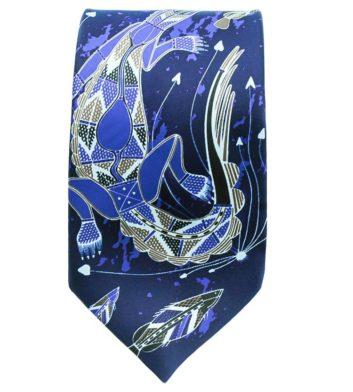 Mens Navy Tie