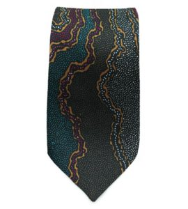 Australian Made Aboriginal Tie