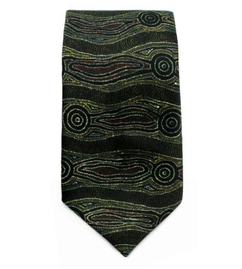 Brown Mens Tie